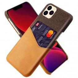 """KSQ"" Shell ādas apvalks - brūns (iPhone 12 Pro Max)"
