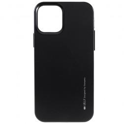 """""""Mercury"""" apvalks - melns (iPhone 12 Pro Max)"""