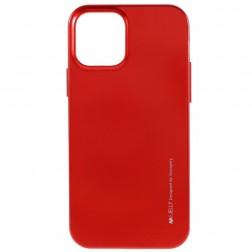 """""""Mercury"""" apvalks - sarkans (iPhone 12 Pro Max)"""