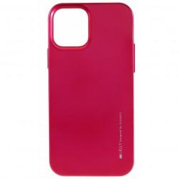 """""""Mercury"""" apvalks - tumši rozs (iPhone 12 Pro Max)"""