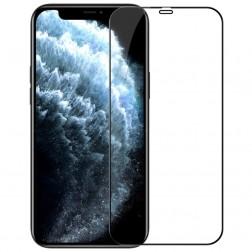 """""""Nillkin"""" CP 9H Tempered Glass ekrāna aizsargstikls 0.33 mm - melns (iPhone 12 Pro Max)"""