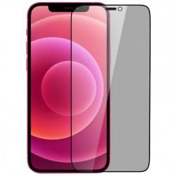 """""""Nillkin"""" Tempered Glass melns ekrāna aizsargstikls 0.26 mm - privāta (iPhone 12 Pro Max)"""
