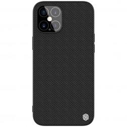 """Nillkin"" Textured apvalks - melns (iPhone 12 Pro Max)"