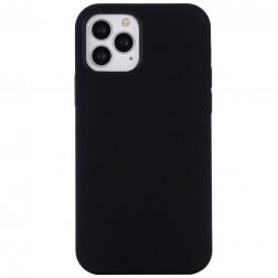 """""""Shell"""" MagSafe cieta silikona (TPU) apvalks - melns (iPhone 12 Pro Max)"""