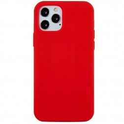 Cieta silikona (TPU) apvalks - sarkans (iPhone 12 Pro Max)