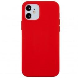 Cieta silikona (TPU) apvalks - sarkans (iPhone 12 Mini)