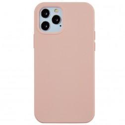 Cieta silikona (TPU) apvalks - gaiši rozs (iPhone 12 Pro Max)