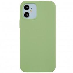Cieta silikona (TPU) apvalks - zaļš (iPhone 12 Mini)