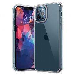 Cieta silikona (TPU) apvalks - dzidrs (iPhone 12 Pro Max)