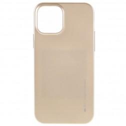 """Mercury"" apvalks - zelta (iPhone 12 / 12 Pro)"