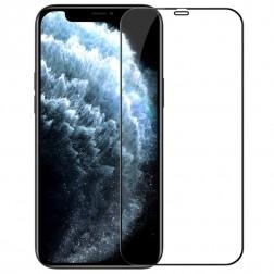 """Nillkin"" CP 9H Tempered Glass ekrāna aizsargstikls 0.33 mm - melns (iPhone 12 / 12 Pro)"