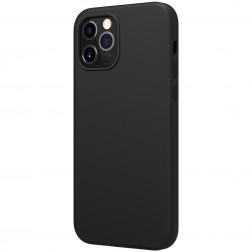 """Nillkin"" Flex MagSafe apvalks - melns (iPhone 12 / 12 Pro)"