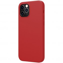 """Nillkin"" Flex MagSafe apvalks - sarkans (iPhone 12 / 12 Pro)"