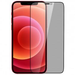"""""""Nillkin"""" Tempered Glass melns ekrāna aizsargstikls 0.26 mm - privāta (iPhone 12 / 12 Pro)"""