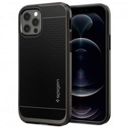 """""""Spigen"""" Neo Hybrid apvalks - melns (iPhone 12 / 12 Pro)"""