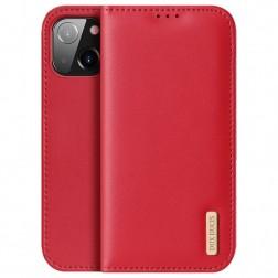 """""""Dux Ducis"""" Hivo atvērams maciņš - sarkans (iPhone 13)"""