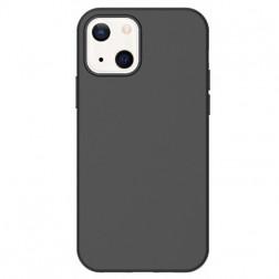 Cieta silikona (TPU) apvalks - melns (iPhone 13)