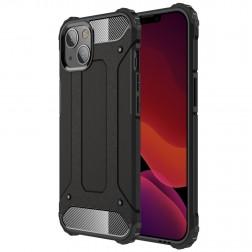 Pastiprinātas aizsardzības apvalks - melns (iPhone 13)