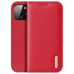 """""""Dux Ducis"""" Hivo atvērams maciņš - sarkans (iPhone 13 Mini)"""