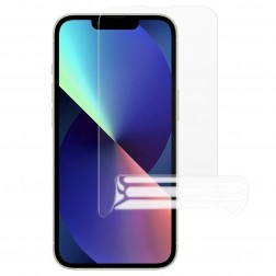"""""""JUNLI"""" (TPU) ekrāna aizsargplēve (pilnīgi aizsedzama) - dzidra (iPhone 13 Mini)"""