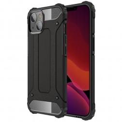 Pastiprinātas aizsardzības apvalks - melns (iPhone 13 Mini)