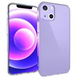 Cieta silikona (TPU) apvalks - dzidrs (iPhone 13 Mini)