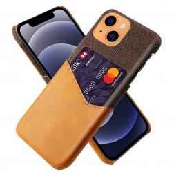 """KSQ"" Shell ādas apvalks - brūns (iPhone 13 Mini)"