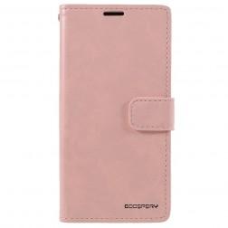 """Mercury"" Blue Moon atvērams maciņš - gaiši rozs (iPhone 13 Mini)"