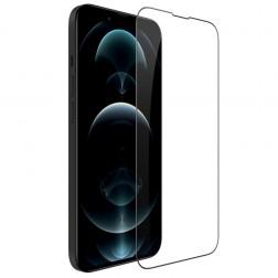 """""""Nillkin"""" CP 9H Tempered Glass ekrāna aizsargstikls 0.33 mm - melns (iPhone 13 Mini)"""