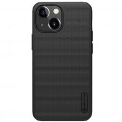 """Nillkin"" Frosted Shield Pro apvalks - melns (iPhone 13 Mini)"
