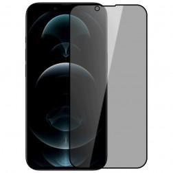 """""""Nillkin"""" Tempered Glass melns ekrāna aizsargstikls 0.26 mm - privāta (iPhone 13 Mini)"""