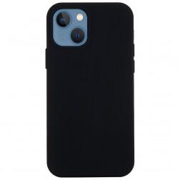 """""""Shell"""" cieta silikona (TPU) apvalks - melns (iPhone 13 Mini)"""