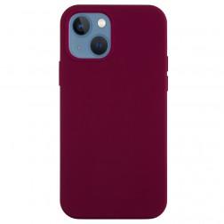 """""""Shell"""" cieta silikona (TPU) apvalks - bordo (iPhone 13 Mini)"""