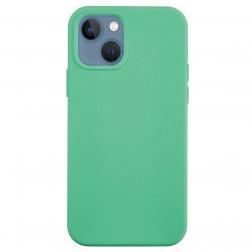 """""""Shell"""" cieta silikona (TPU) apvalks - piparmētru (iPhone 13 Mini)"""