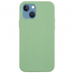 """""""Shell"""" cieta silikona (TPU) apvalks - gaiši zaļš (iPhone 13 Mini)"""