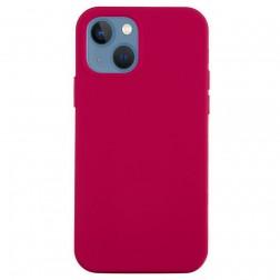 """Shell"" cieta silikona (TPU) apvalks - tumši rozs (iPhone 13 Mini)"