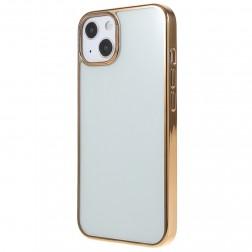 """X-Level"" Glitter apvalks - dzidrs, zelta (iPhone 13 Mini)"