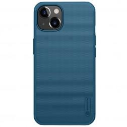 """""""Nillkin"""" Frosted Shield Pro apvalks - zils (iPhone 13)"""