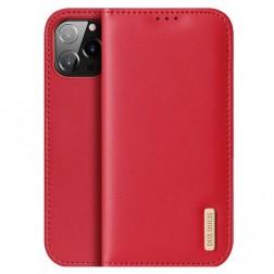 """Dux Ducis"" Hivo atvērams maciņš - sarkans (iPhone 13 Pro Max)"