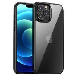 """IPAKY"" Royal apvalks - dzidrs, melns (iPhone 13 Pro Max)"