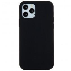 """Shell"" cieta silikona (TPU) apvalks - melns (iPhone 13 Pro Max)"