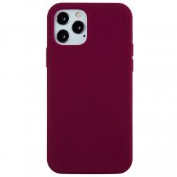 """""""Shell"""" cieta silikona (TPU) apvalks - bordo (iPhone 13 Pro Max)"""