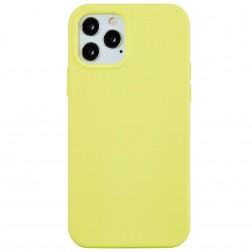 """Shell"" cieta silikona (TPU) apvalks - dzeltens (iPhone 13 Pro Max)"