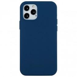 """""""Shell"""" cieta silikona (TPU) apvalks - zils (iPhone 13 Pro Max)"""