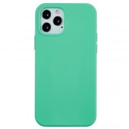 """""""Shell"""" cieta silikona (TPU) apvalks - piparmētru (iPhone 13 Pro Max)"""