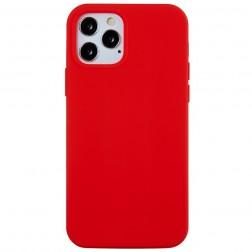 """Shell"" cieta silikona (TPU) apvalks - sarkans (iPhone 13 Pro Max)"
