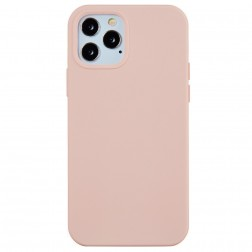 """Shell"" cieta silikona (TPU) apvalks - gaiši rozs (iPhone 13 Pro Max)"