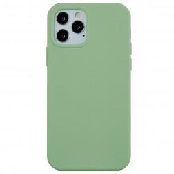 """""""Shell"""" cieta silikona (TPU) apvalks - gaiši zaļš (iPhone 13 Pro Max)"""