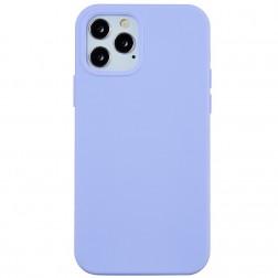 """""""Shell"""" cieta silikona (TPU) apvalks - violeta (iPhone 13 Pro Max)"""