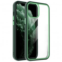 """X-Level"" Colorful apvalks - dzidrs, zaļš (iPhone 13 Pro Max)"